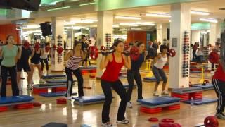 Clase de Body Pump (18-Jul-12) - Rosana Vivas (y su equipo) en Megatlón Center - BP 82 Track # 1