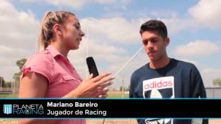 Planeta Racing TV:  Entrevista a Mariano Bareiro.