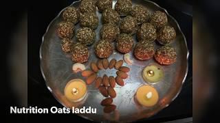 Nutrition Oats Laddu