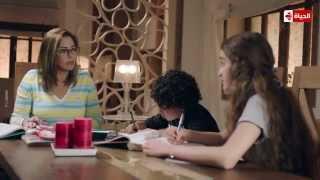 مسلسل يوميات زوجة مفروسة أوي - مشهد يجسد أزمة مدارس اللغات في عدم تدريس الدين للأطفال