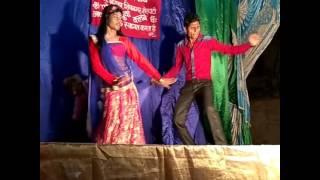Chhalakata hamro jawaniya stage show in village B. T. Bigha, Sherghati, Gaya