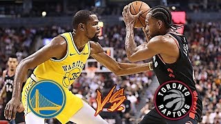 Golden State Warriors vs Toronto Raptors | 2019 NBA Finals Prediction