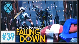 XCOM 2: Live and Legendary #39 - FALLING DOWN