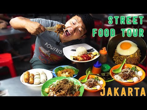 10X SPICY Instant Noodle INDOMIE Goreng Jakarta Indonesia Street Food Tour