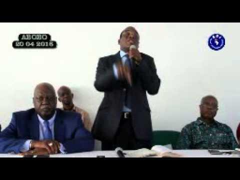 Rencontre du Président AFFI N'Guessan avec les chefs des communautés Abby du District d'Abidjan