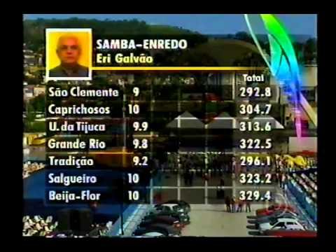 Apuração do Carnaval Rio de Janeiro 2002 Completa