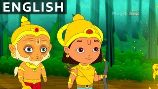 Arjun And Hanuman - Hanuman In English - Animation / Cartoon Stories For Kids