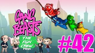 LEATHER SWEATER | GANG BEASTS GAMEPLAY #42
