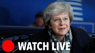 May, Blair, Tusk, Juncker, Rees-Mogg and Farage Brexit speeches (14/12/18)