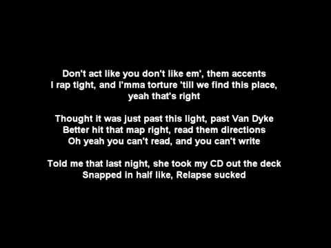 Eminem - The Reunion ft. Royce Da 5'9 (w/ LYRICS) HD