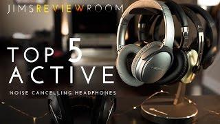 Top 5 BEST Wireless Active Noise Cancelling Headphones !