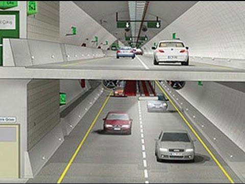Avrasya Tüneli Projesi nin tanitim videosu
