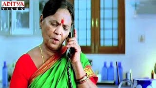 Pavala Shyamala Phone Comedy With Villian - Golimaar Hindi Movie
