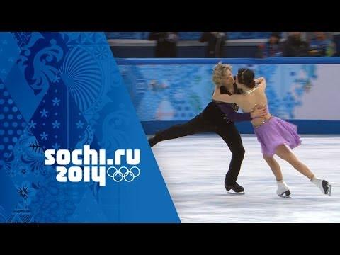 Meryl Davis & Charlie White Full Free Dance Performance Wins Gold Sochi 2014 Winter Olympics