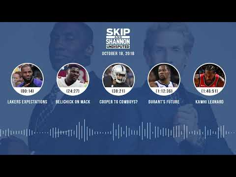 Xxx Mp4 UNDISPUTED Audio Podcast 10 18 18 With Skip Bayless Shannon Sharpe Jenny Taft UNDISPUTED 3gp Sex