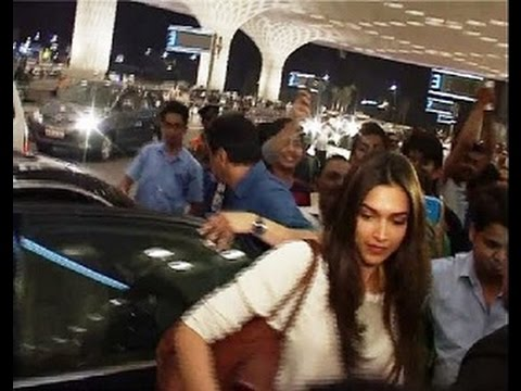 Deepika Padukone, Kumar Sanu spotted at airport | Deepika Padukone Xxx - Movie | Deepika Hot