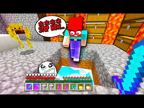 RAIDING the WORLD MOST ANGRY Minecraft Factions player TOXIC