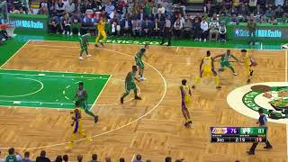 Lonzo Ball bricks and yips against the Celtics
