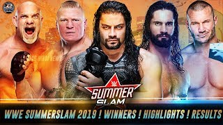 WWE Summerslam 2019 FULL Highlights ! Winners ! Results ! Full Results of Summerslam 2019 REVEALED