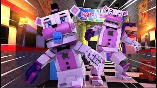 Baby Funtime Freddy Rampage!- Minecraft FNAF Roleplay
