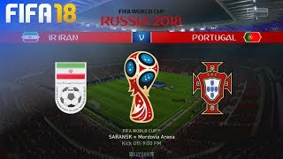 FIFA 18 World Cup - Iran vs. Portugal @ Mordovia Arena (Group B)