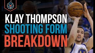How To: Klay Thompson Shooting Form