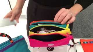 The Essential Travel Range - Vanity Bags, organisers and purse