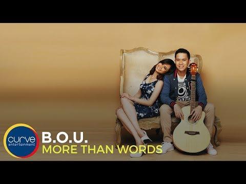 Xxx Mp4 B O U More Than Words Official Lyric Video 3gp Sex