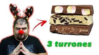 3 turrones de chocolate para sorprender en navidad - Receta