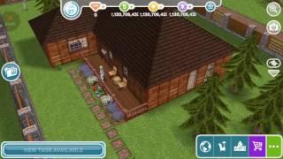 Sims Freeplay - Sword Art Online - Kirito & Asuna Forest House