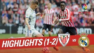 Resumen de Athletic Club vs Real Madrid (1-2)