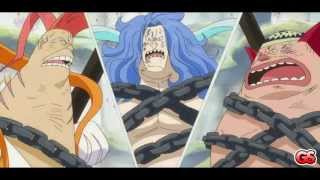 One Piece AMV - Luffy vs Hody (Face to face) (GS)