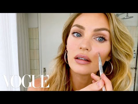 """Candice Swanepoel's 10-Minute Guide to """"Fake Natural"""" Makeup and Faux Freckles   Beauty Secrets"""