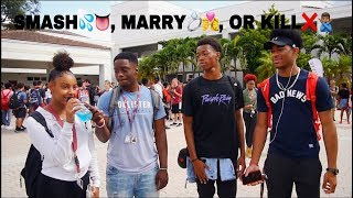SMASH, MARRY, OR KILL CHALLENGE!!! ( Public Interview)