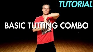 How to do a Basic Tutting Combo (Dance Moves Tutorial) | Mihran Kirakosian