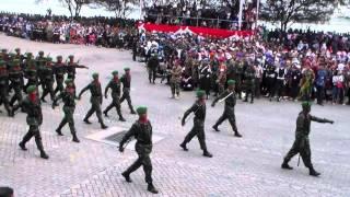 HUT TNI Ke 70 Defile Pasukan dan Alutsista (Unformal)