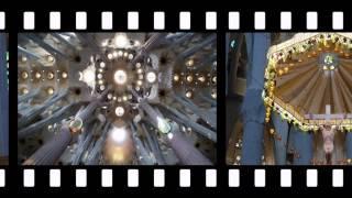 Cathédrale Sagrada de Barcelone avec Avé-Maria par BD (HD)