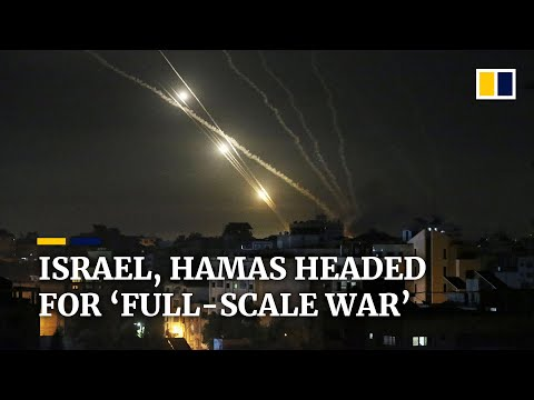 'Full scale war' feared as fighting between Israel and Hamas escalates amid air strikes