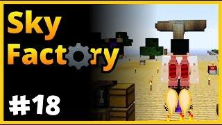Jetpack Yaptım Uçuyoruuum - Sky Factory - SkyBlock - Minecraft Türkçe - Bölüm 18