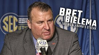 Bret Bielema discusses what it will take to end Alabama