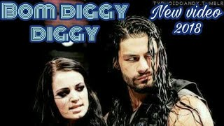 Bom diggy diggy Roman reigns & page wwe in  punjabi song style 😃😃😎😎😉😉