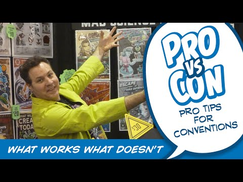 Exhibiting at Comic Cons- What works, What Doesn't