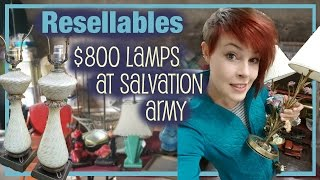 $800 Lamps at Salvation Army - Resellables - Antique Reselling & Picking