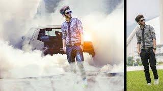 smoke style photo manipulation | photoshop tutorial cs6/cc