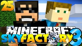 Minecraft: SkyFactory 3 - LUCKY BLOCK CONSEQUENCE?! [25]