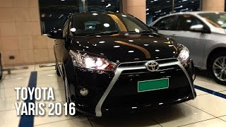 All New Toyota YARIS Hatchback 2016