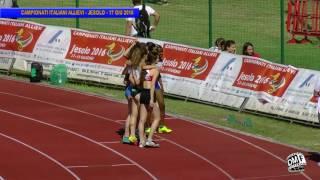 Jesolo | 100 Femminile | Campionati Italiani Allievi | 17giu2016