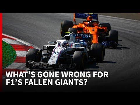 McLaren Williams What s gone wrong for F1 s fallen giants