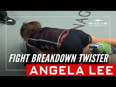 Xxx Mp4 MMA FIGHT BREAKDOWN ONE Superstar Angela Lee Twister Submission Evolve University 3gp Sex