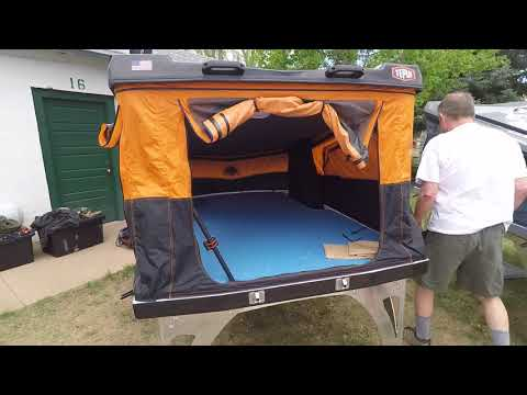 Hard shell roof top tents by Tepui Overland Expo 2018